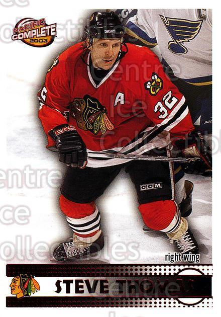 2002-03 Pacific Complete Red #142 Steve Thomas<br/>6 In Stock - $3.00 each - <a href=https://centericecollectibles.foxycart.com/cart?name=2002-03%20Pacific%20Complete%20Red%20%23142%20Steve%20Thomas...&quantity_max=6&price=$3.00&code=331429 class=foxycart> Buy it now! </a>