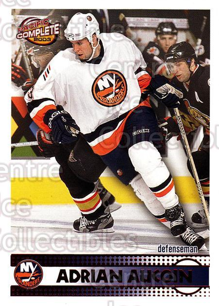 2002-03 Pacific Complete Red #167 Adrian Aucoin<br/>6 In Stock - $3.00 each - <a href=https://centericecollectibles.foxycart.com/cart?name=2002-03%20Pacific%20Complete%20Red%20%23167%20Adrian%20Aucoin...&quantity_max=6&price=$3.00&code=331454 class=foxycart> Buy it now! </a>