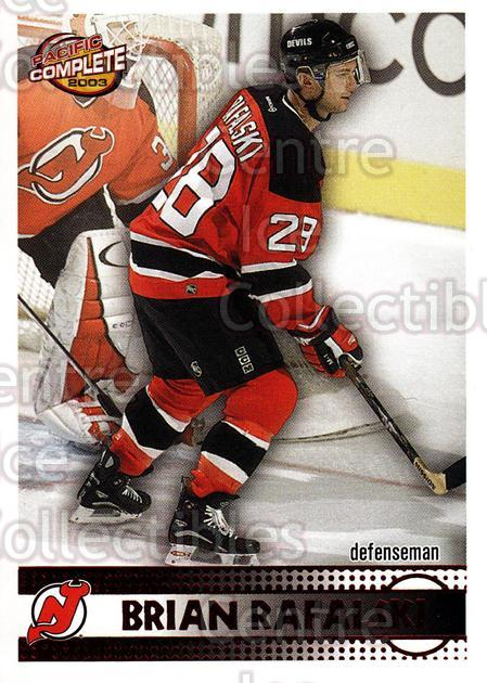 2002-03 Pacific Complete Red #204 Brian Rafalski<br/>6 In Stock - $3.00 each - <a href=https://centericecollectibles.foxycart.com/cart?name=2002-03%20Pacific%20Complete%20Red%20%23204%20Brian%20Rafalski...&quantity_max=6&price=$3.00&code=331491 class=foxycart> Buy it now! </a>