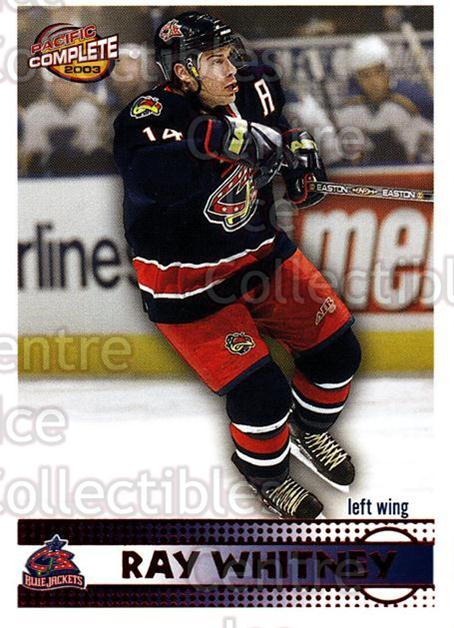 2002-03 Pacific Complete Red #209 Ray Whitney<br/>5 In Stock - $3.00 each - <a href=https://centericecollectibles.foxycart.com/cart?name=2002-03%20Pacific%20Complete%20Red%20%23209%20Ray%20Whitney...&quantity_max=5&price=$3.00&code=331496 class=foxycart> Buy it now! </a>