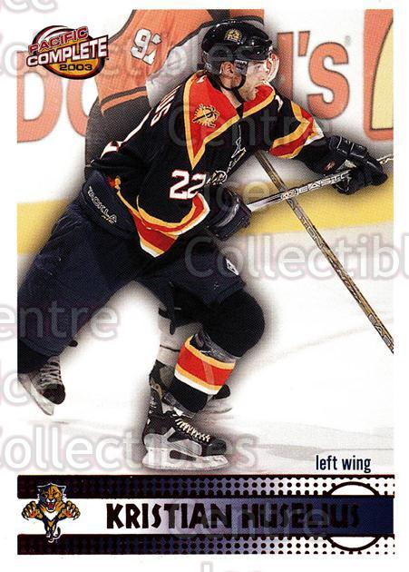 2002-03 Pacific Complete Red #316 Kristian Huselius<br/>6 In Stock - $3.00 each - <a href=https://centericecollectibles.foxycart.com/cart?name=2002-03%20Pacific%20Complete%20Red%20%23316%20Kristian%20Huseli...&quantity_max=6&price=$3.00&code=331603 class=foxycart> Buy it now! </a>