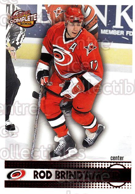 2002-03 Pacific Complete Red #317 Rod Brind'Amour<br/>3 In Stock - $3.00 each - <a href=https://centericecollectibles.foxycart.com/cart?name=2002-03%20Pacific%20Complete%20Red%20%23317%20Rod%20Brind'Amour...&quantity_max=3&price=$3.00&code=331604 class=foxycart> Buy it now! </a>