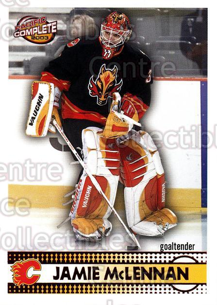 2002-03 Pacific Complete Red #392 Jamie McLennan<br/>2 In Stock - $3.00 each - <a href=https://centericecollectibles.foxycart.com/cart?name=2002-03%20Pacific%20Complete%20Red%20%23392%20Jamie%20McLennan...&quantity_max=2&price=$3.00&code=331679 class=foxycart> Buy it now! </a>