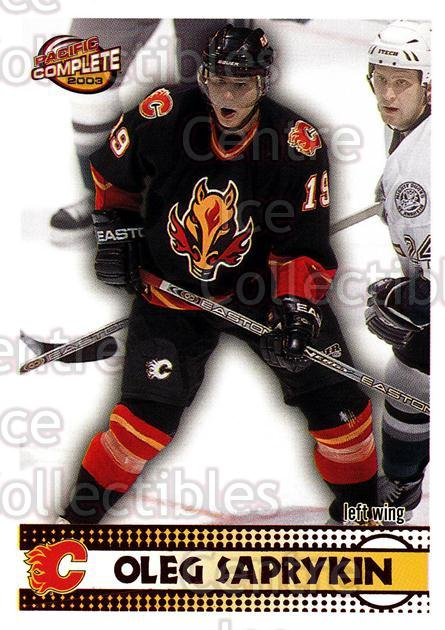 2002-03 Pacific Complete Red #441 Oleg Saprykin<br/>4 In Stock - $3.00 each - <a href=https://centericecollectibles.foxycart.com/cart?name=2002-03%20Pacific%20Complete%20Red%20%23441%20Oleg%20Saprykin...&quantity_max=4&price=$3.00&code=331728 class=foxycart> Buy it now! </a>