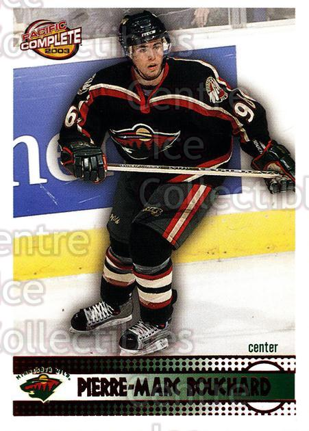2002-03 Pacific Complete Red #516 Pierre-Marc Bouchard<br/>3 In Stock - $3.00 each - <a href=https://centericecollectibles.foxycart.com/cart?name=2002-03%20Pacific%20Complete%20Red%20%23516%20Pierre-Marc%20Bou...&quantity_max=3&price=$3.00&code=331803 class=foxycart> Buy it now! </a>
