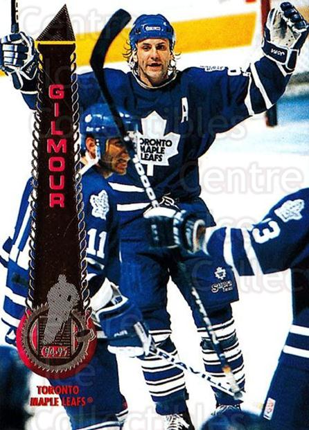 1994-95 Pinnacle #135 Doug Gilmour<br/>4 In Stock - $1.00 each - <a href=https://centericecollectibles.foxycart.com/cart?name=1994-95%20Pinnacle%20%23135%20Doug%20Gilmour...&quantity_max=4&price=$1.00&code=33198 class=foxycart> Buy it now! </a>