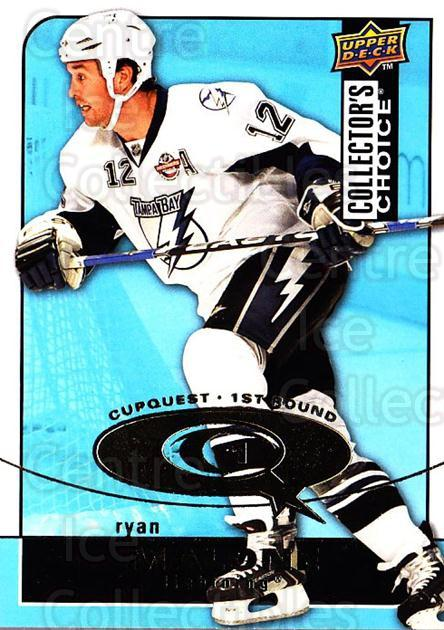 2008-09 Collectors Choice Cup Quest #29 Ryan Malone<br/>2 In Stock - $2.00 each - <a href=https://centericecollectibles.foxycart.com/cart?name=2008-09%20Collectors%20Choice%20Cup%20Quest%20%2329%20Ryan%20Malone...&quantity_max=2&price=$2.00&code=332015 class=foxycart> Buy it now! </a>