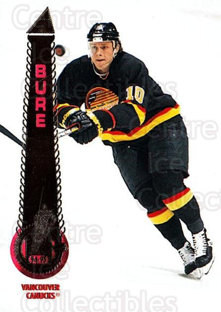 1994-95 Pinnacle #140 Pavel Bure<br/>5 In Stock - $1.00 each - <a href=https://centericecollectibles.foxycart.com/cart?name=1994-95%20Pinnacle%20%23140%20Pavel%20Bure...&quantity_max=5&price=$1.00&code=33202 class=foxycart> Buy it now! </a>