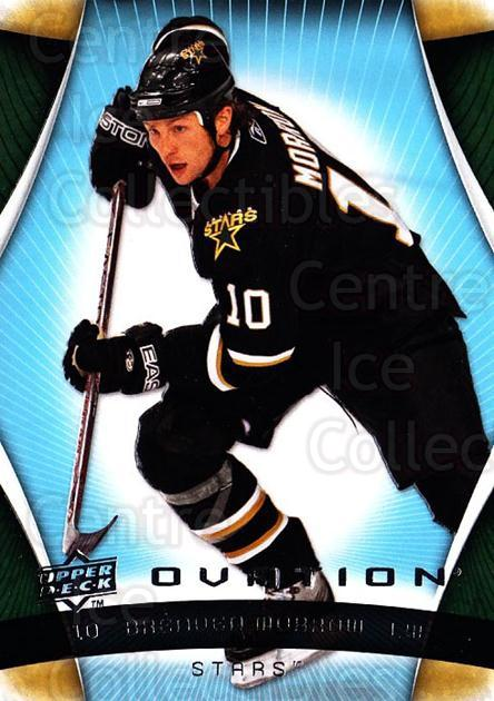 2009-10 UD Ovation #42 Brenden Morrow<br/>3 In Stock - $1.00 each - <a href=https://centericecollectibles.foxycart.com/cart?name=2009-10%20UD%20Ovation%20%2342%20Brenden%20Morrow...&quantity_max=3&price=$1.00&code=332146 class=foxycart> Buy it now! </a>