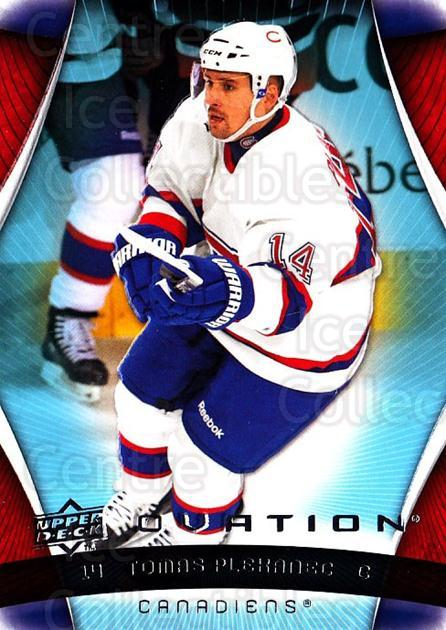 2009-10 UD Ovation #72 Tomas Plekanec<br/>2 In Stock - $1.00 each - <a href=https://centericecollectibles.foxycart.com/cart?name=2009-10%20UD%20Ovation%20%2372%20Tomas%20Plekanec...&quantity_max=2&price=$1.00&code=332176 class=foxycart> Buy it now! </a>