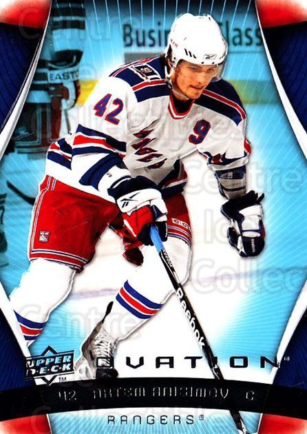 2009-10 UD Ovation #92 Artem Anisimov<br/>1 In Stock - $1.00 each - <a href=https://centericecollectibles.foxycart.com/cart?name=2009-10%20UD%20Ovation%20%2392%20Artem%20Anisimov...&quantity_max=1&price=$1.00&code=332196 class=foxycart> Buy it now! </a>