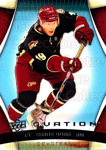 2009-10 UD Ovation #110 Shane Doan<br/>3 In Stock - $1.00 each - <a href=https://centericecollectibles.foxycart.com/cart?name=2009-10%20UD%20Ovation%20%23110%20Shane%20Doan...&quantity_max=3&price=$1.00&code=332214 class=foxycart> Buy it now! </a>