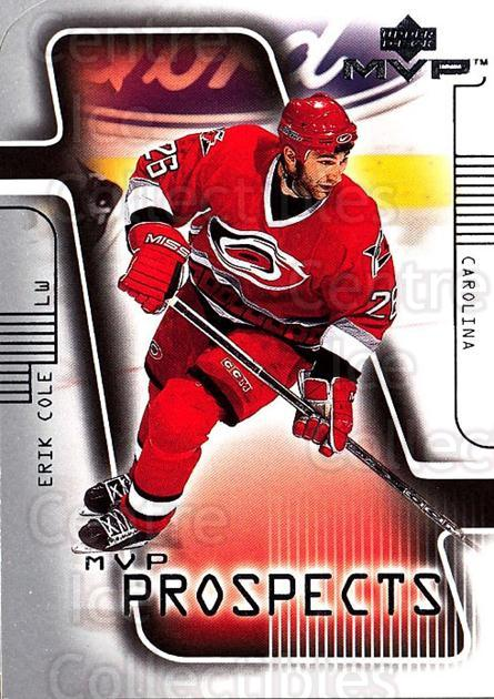 2001-02 Upper Deck MVP #222 Erik Cole<br/>1 In Stock - $5.00 each - <a href=https://centericecollectibles.foxycart.com/cart?name=2001-02%20Upper%20Deck%20MVP%20%23222%20Erik%20Cole...&quantity_max=1&price=$5.00&code=332443 class=foxycart> Buy it now! </a>