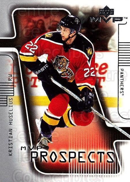 2001-02 Upper Deck MVP #224 Kristian Huselius<br/>1 In Stock - $5.00 each - <a href=https://centericecollectibles.foxycart.com/cart?name=2001-02%20Upper%20Deck%20MVP%20%23224%20Kristian%20Huseli...&quantity_max=1&price=$5.00&code=332445 class=foxycart> Buy it now! </a>