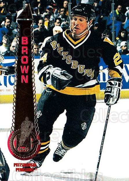 1994-95 Pinnacle #197 Doug Brown<br/>6 In Stock - $1.00 each - <a href=https://centericecollectibles.foxycart.com/cart?name=1994-95%20Pinnacle%20%23197%20Doug%20Brown...&quantity_max=6&price=$1.00&code=33246 class=foxycart> Buy it now! </a>