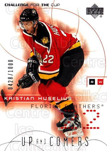 2001-02 UD Challenge for the Cup #108 Kristian Huselius<br/>1 In Stock - $3.00 each - <a href=https://centericecollectibles.foxycart.com/cart?name=2001-02%20UD%20Challenge%20for%20the%20Cup%20%23108%20Kristian%20Huseli...&quantity_max=1&price=$3.00&code=332475 class=foxycart> Buy it now! </a>