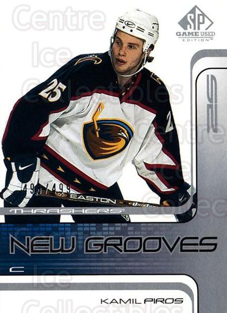 2001-02 SP Game Used #65 Kamil Piros<br/>2 In Stock - $5.00 each - <a href=https://centericecollectibles.foxycart.com/cart?name=2001-02%20SP%20Game%20Used%20%2365%20Kamil%20Piros...&quantity_max=2&price=$5.00&code=332497 class=foxycart> Buy it now! </a>