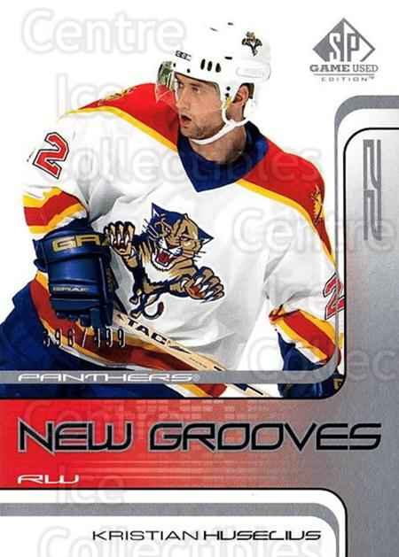 2001-02 SP Game Used #79 Kristian Huselius<br/>1 In Stock - $5.00 each - <a href=https://centericecollectibles.foxycart.com/cart?name=2001-02%20SP%20Game%20Used%20%2379%20Kristian%20Huseli...&quantity_max=1&price=$5.00&code=332504 class=foxycart> Buy it now! </a>