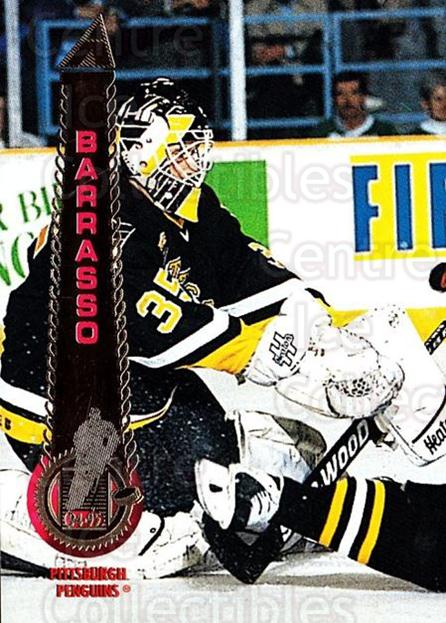 1994-95 Pinnacle #20 Tom Barrasso<br/>4 In Stock - $1.00 each - <a href=https://centericecollectibles.foxycart.com/cart?name=1994-95%20Pinnacle%20%2320%20Tom%20Barrasso...&quantity_max=4&price=$1.00&code=33250 class=foxycart> Buy it now! </a>