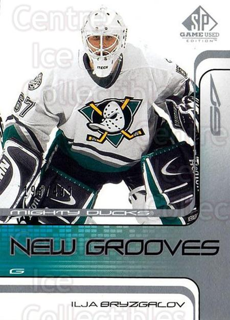 2001-02 SP Game Used #61 Ilya Bryzgalov<br/>1 In Stock - $10.00 each - <a href=https://centericecollectibles.foxycart.com/cart?name=2001-02%20SP%20Game%20Used%20%2361%20Ilya%20Bryzgalov...&quantity_max=1&price=$10.00&code=332523 class=foxycart> Buy it now! </a>