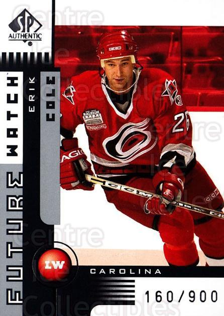 2001-02 SP Authentic #139 Erik Cole<br/>2 In Stock - $5.00 each - <a href=https://centericecollectibles.foxycart.com/cart?name=2001-02%20SP%20Authentic%20%23139%20Erik%20Cole...&quantity_max=2&price=$5.00&code=332539 class=foxycart> Buy it now! </a>