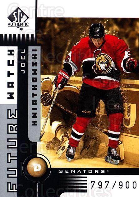 2001-02 SP Authentic #164 Joel Kwiatkowski<br/>9 In Stock - $5.00 each - <a href=https://centericecollectibles.foxycart.com/cart?name=2001-02%20SP%20Authentic%20%23164%20Joel%20Kwiatkowsk...&quantity_max=9&price=$5.00&code=332557 class=foxycart> Buy it now! </a>