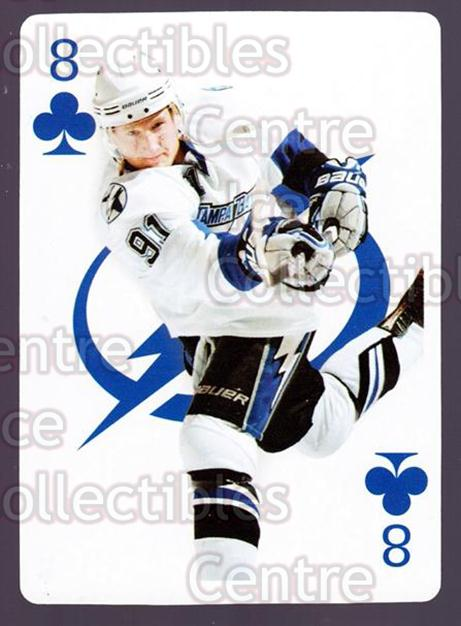 2010-11 Tampa Bay Lightning Playing Card #8 Steven Stamkos<br/>1 In Stock - $3.00 each - <a href=https://centericecollectibles.foxycart.com/cart?name=2010-11%20Tampa%20Bay%20Lightning%20Playing%20Card%20%238%20Steven%20Stamkos...&price=$3.00&code=333353 class=foxycart> Buy it now! </a>