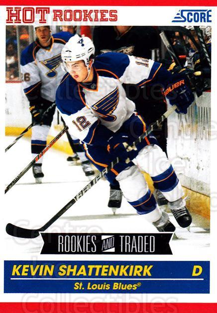 2010-11 Score #601 Kevin Shattenkirk<br/>5 In Stock - $1.00 each - <a href=https://centericecollectibles.foxycart.com/cart?name=2010-11%20Score%20%23601%20Kevin%20Shattenki...&quantity_max=5&price=$1.00&code=334177 class=foxycart> Buy it now! </a>