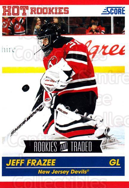 2010-11 Score #620 Jeff Frazee<br/>3 In Stock - $1.00 each - <a href=https://centericecollectibles.foxycart.com/cart?name=2010-11%20Score%20%23620%20Jeff%20Frazee...&quantity_max=3&price=$1.00&code=334196 class=foxycart> Buy it now! </a>