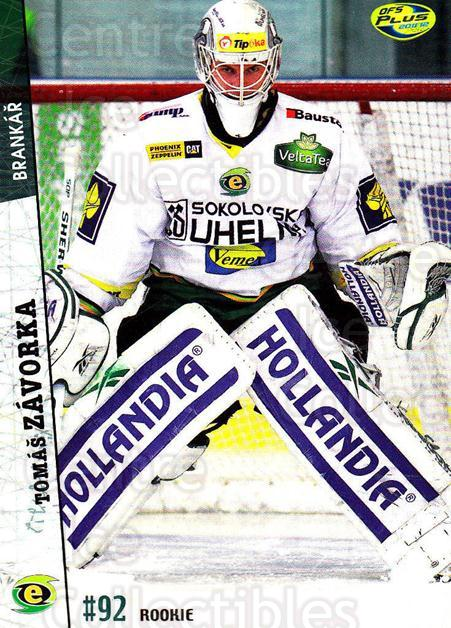 2011-12 Czech OFS #256 Tomas Zavorka<br/>5 In Stock - $2.00 each - <a href=https://centericecollectibles.foxycart.com/cart?name=2011-12%20Czech%20OFS%20%23256%20Tomas%20Zavorka...&price=$2.00&code=334491 class=foxycart> Buy it now! </a>