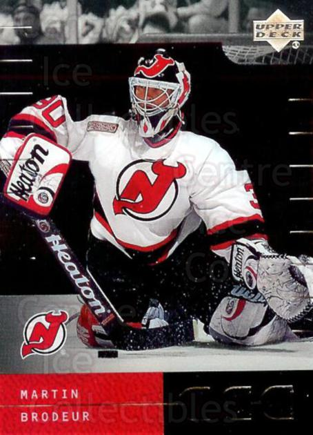 2000-01 Upper Deck Ice #24 Martin Brodeur<br/>1 In Stock - $2.00 each - <a href=https://centericecollectibles.foxycart.com/cart?name=2000-01%20Upper%20Deck%20Ice%20%2324%20Martin%20Brodeur...&price=$2.00&code=334593 class=foxycart> Buy it now! </a>