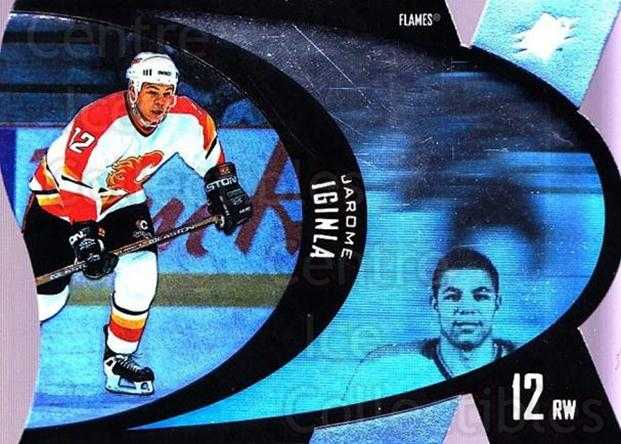 1997-98 SPx #7 Jarome Iginla<br/>6 In Stock - $1.00 each - <a href=https://centericecollectibles.foxycart.com/cart?name=1997-98%20SPx%20%237%20Jarome%20Iginla...&quantity_max=6&price=$1.00&code=335645 class=foxycart> Buy it now! </a>