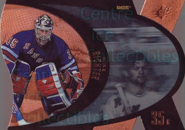 1997-98 SPx Bronze #31 Mike Richter<br/>2 In Stock - $3.00 each - <a href=https://centericecollectibles.foxycart.com/cart?name=1997-98%20SPx%20Bronze%20%2331%20Mike%20Richter...&quantity_max=2&price=$3.00&code=335671 class=foxycart> Buy it now! </a>