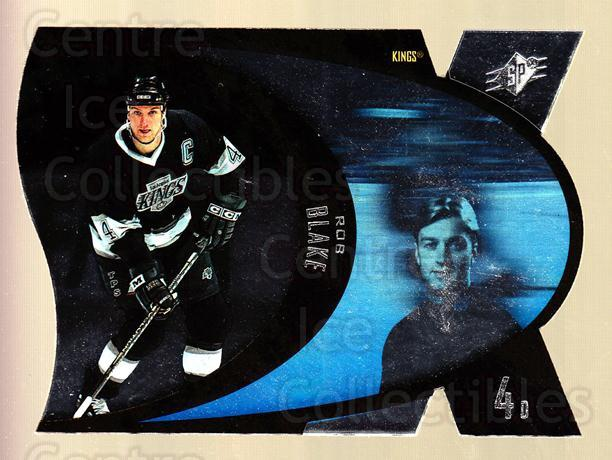1997-98 SPx Steel #23 Rob Blake<br/>6 In Stock - $2.00 each - <a href=https://centericecollectibles.foxycart.com/cart?name=1997-98%20SPx%20Steel%20%2323%20Rob%20Blake...&quantity_max=6&price=$2.00&code=335714 class=foxycart> Buy it now! </a>