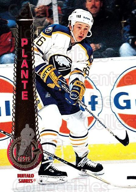 1994-95 Pinnacle #95 Derek Plante<br/>3 In Stock - $1.00 each - <a href=https://centericecollectibles.foxycart.com/cart?name=1994-95%20Pinnacle%20%2395%20Derek%20Plante...&quantity_max=3&price=$1.00&code=337020 class=foxycart> Buy it now! </a>