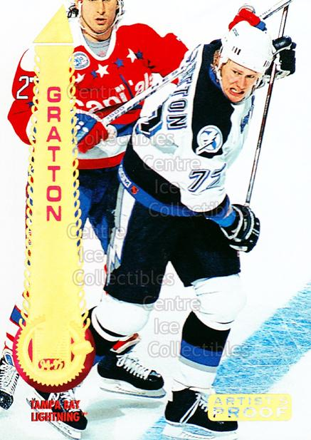 1994-95 Pinnacle Artists Proofs #19 Chris Gratton<br/>2 In Stock - $3.00 each - <a href=https://centericecollectibles.foxycart.com/cart?name=1994-95%20Pinnacle%20Artists%20Proofs%20%2319%20Chris%20Gratton...&quantity_max=2&price=$3.00&code=337676 class=foxycart> Buy it now! </a>