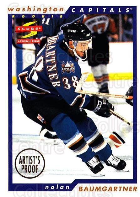1996-97 Score Artists Proofs #251 Nolan Baumgartner<br/>1 In Stock - $5.00 each - <a href=https://centericecollectibles.foxycart.com/cart?name=1996-97%20Score%20Artists%20Proofs%20%23251%20Nolan%20Baumgartn...&quantity_max=1&price=$5.00&code=338144 class=foxycart> Buy it now! </a>