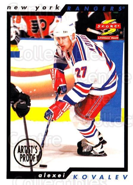 1996-97 Score Artists Proofs #61 Alexei Kovalev<br/>1 In Stock - $5.00 each - <a href=https://centericecollectibles.foxycart.com/cart?name=1996-97%20Score%20Artists%20Proofs%20%2361%20Alexei%20Kovalev...&quantity_max=1&price=$5.00&code=338193 class=foxycart> Buy it now! </a>