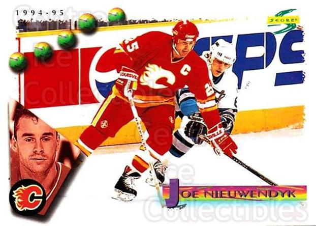 1994-95 Score #159 Joe Nieuwendyk<br/>4 In Stock - $1.00 each - <a href=https://centericecollectibles.foxycart.com/cart?name=1994-95%20Score%20%23159%20Joe%20Nieuwendyk...&quantity_max=4&price=$1.00&code=33820 class=foxycart> Buy it now! </a>