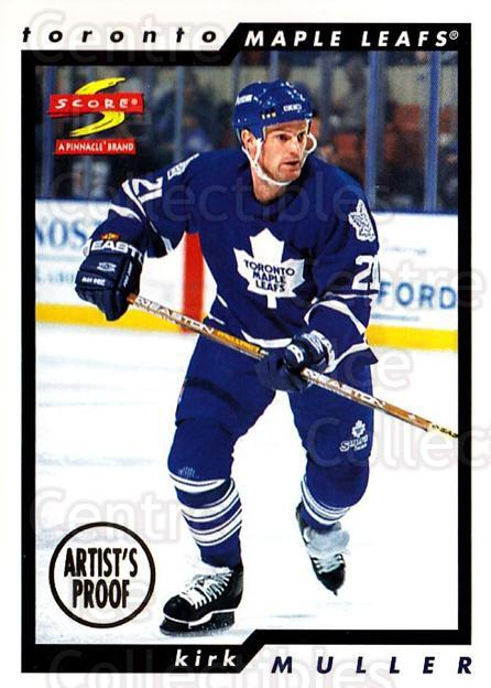 1996-97 Score Artists Proofs #103 Kirk Muller<br/>1 In Stock - $5.00 each - <a href=https://centericecollectibles.foxycart.com/cart?name=1996-97%20Score%20Artists%20Proofs%20%23103%20Kirk%20Muller...&quantity_max=1&price=$5.00&code=338261 class=foxycart> Buy it now! </a>