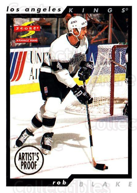 1996-97 Score Artists Proofs #130 Rob Blake<br/>1 In Stock - $5.00 each - <a href=https://centericecollectibles.foxycart.com/cart?name=1996-97%20Score%20Artists%20Proofs%20%23130%20Rob%20Blake...&quantity_max=1&price=$5.00&code=338290 class=foxycart> Buy it now! </a>