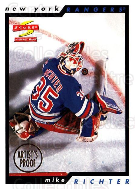 1996-97 Score Artists Proofs #150 Mike Richter<br/>1 In Stock - $5.00 each - <a href=https://centericecollectibles.foxycart.com/cart?name=1996-97%20Score%20Artists%20Proofs%20%23150%20Mike%20Richter...&quantity_max=1&price=$5.00&code=338312 class=foxycart> Buy it now! </a>