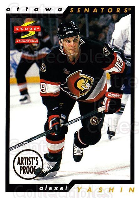 1996-97 Score Artists Proofs #181 Alexei Yashin<br/>1 In Stock - $5.00 each - <a href=https://centericecollectibles.foxycart.com/cart?name=1996-97%20Score%20Artists%20Proofs%20%23181%20Alexei%20Yashin...&quantity_max=1&price=$5.00&code=338344 class=foxycart> Buy it now! </a>
