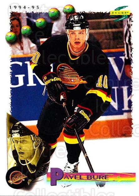 1994-95 Score #190 Pavel Bure<br/>3 In Stock - $1.00 each - <a href=https://centericecollectibles.foxycart.com/cart?name=1994-95%20Score%20%23190%20Pavel%20Bure...&quantity_max=3&price=$1.00&code=33854 class=foxycart> Buy it now! </a>