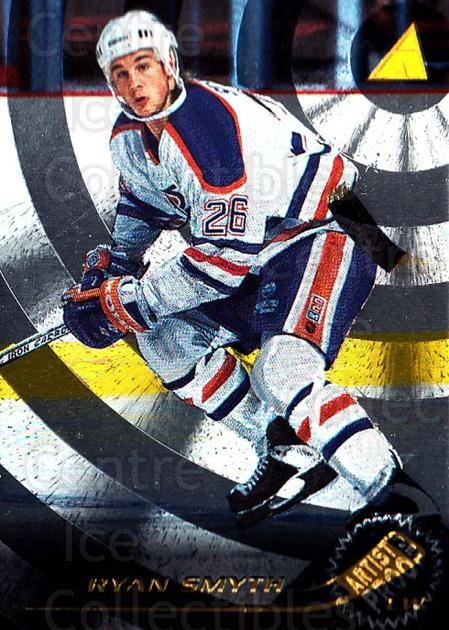 1995-96 Pinnacle Artists Proofs #204 Ryan Smyth<br/>1 In Stock - $5.00 each - <a href=https://centericecollectibles.foxycart.com/cart?name=1995-96%20Pinnacle%20Artists%20Proofs%20%23204%20Ryan%20Smyth...&quantity_max=1&price=$5.00&code=339261 class=foxycart> Buy it now! </a>
