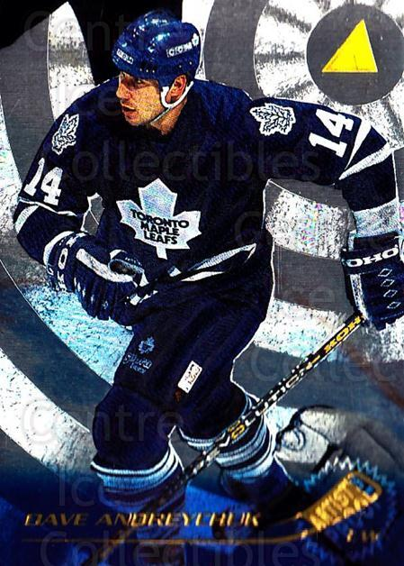 1995-96 Pinnacle Artists Proofs #31 Dave Andreychuk<br/>3 In Stock - $5.00 each - <a href=https://centericecollectibles.foxycart.com/cart?name=1995-96%20Pinnacle%20Artists%20Proofs%20%2331%20Dave%20Andreychuk...&quantity_max=3&price=$5.00&code=339294 class=foxycart> Buy it now! </a>