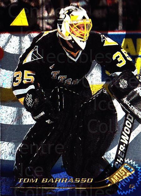 1995-96 Pinnacle Artists Proofs #97 Tom Barrasso<br/>1 In Stock - $5.00 each - <a href=https://centericecollectibles.foxycart.com/cart?name=1995-96%20Pinnacle%20Artists%20Proofs%20%2397%20Tom%20Barrasso...&price=$5.00&code=339371 class=foxycart> Buy it now! </a>