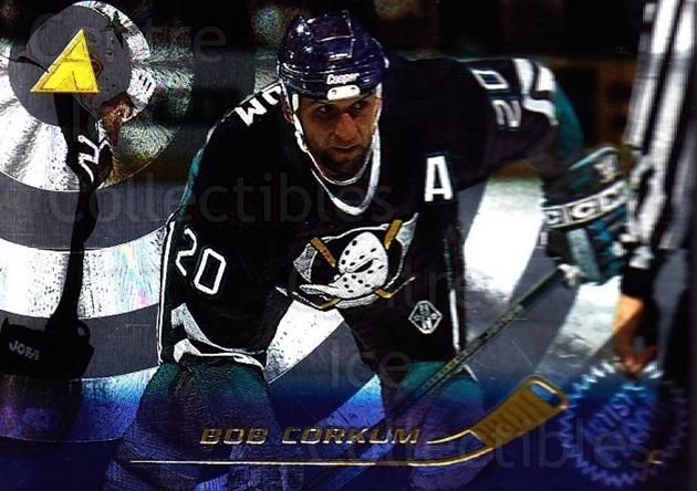 1995-96 Pinnacle Artists Proofs #121 Bob Corkum<br/>2 In Stock - $5.00 each - <a href=https://centericecollectibles.foxycart.com/cart?name=1995-96%20Pinnacle%20Artists%20Proofs%20%23121%20Bob%20Corkum...&quantity_max=2&price=$5.00&code=339396 class=foxycart> Buy it now! </a>