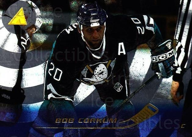 1995-96 Pinnacle Rink Collection #121 Bob Corkum<br/>4 In Stock - $2.00 each - <a href=https://centericecollectibles.foxycart.com/cart?name=1995-96%20Pinnacle%20Rink%20Collection%20%23121%20Bob%20Corkum...&quantity_max=4&price=$2.00&code=339511 class=foxycart> Buy it now! </a>