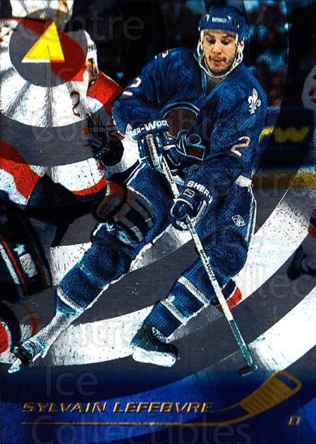 1995-96 Pinnacle Rink Collection #131 Sylvain Lefebvre<br/>7 In Stock - $2.00 each - <a href=https://centericecollectibles.foxycart.com/cart?name=1995-96%20Pinnacle%20Rink%20Collection%20%23131%20Sylvain%20Lefebvr...&quantity_max=7&price=$2.00&code=339521 class=foxycart> Buy it now! </a>